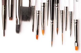 pennelli da nail art