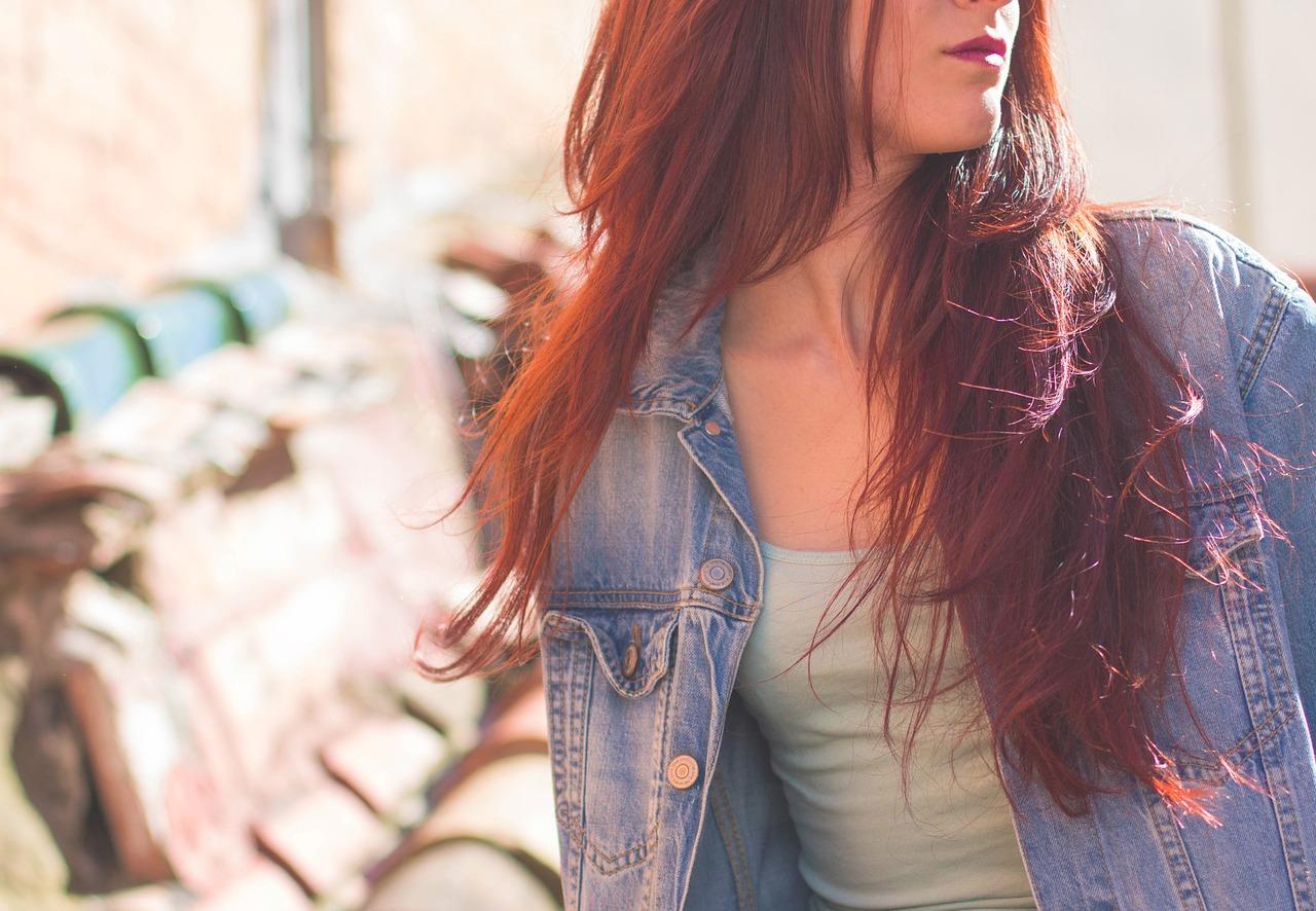 Maschere capelli rossi