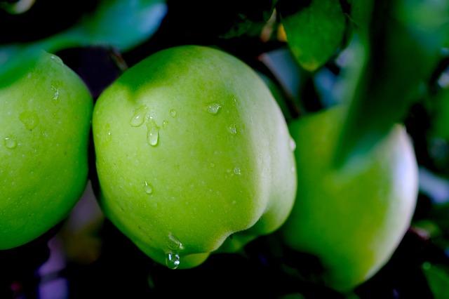 crema di sapone alla mela verde