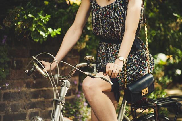 Bicicletta e cosmesi
