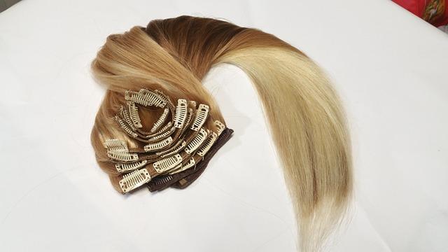 Extension per capelli a clip