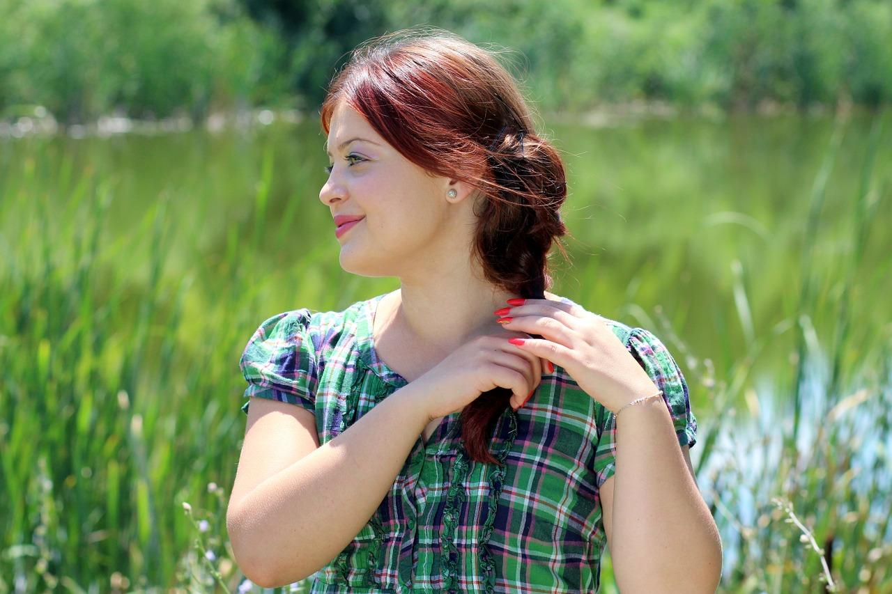 routine capelli rossi