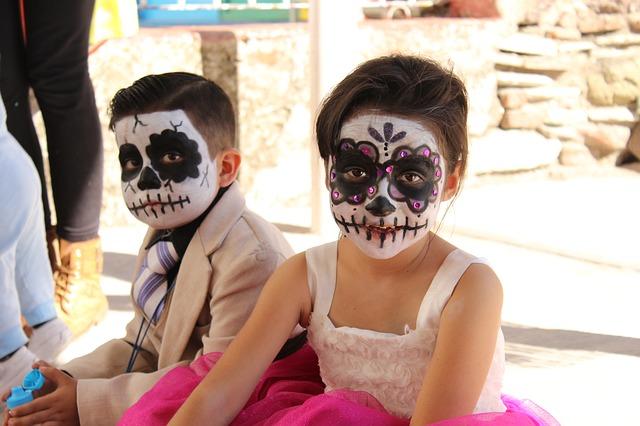Trucco e maschere bambini halloween