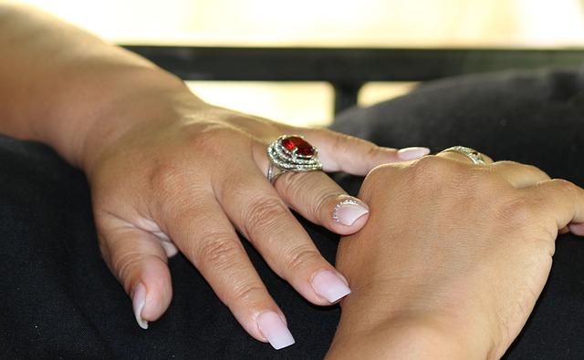 nail art matrimonio