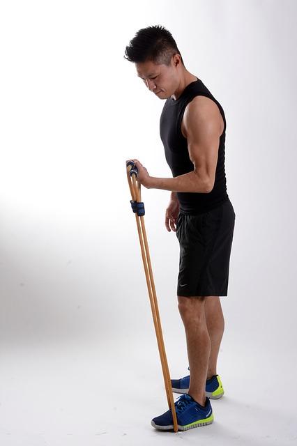 Fitness con gli elastici