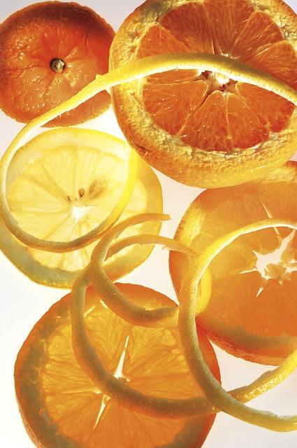 Polvere di buccia di arancia per capelli